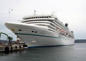 Kepez Limanı Yılın En Büyük Kruvaziyer Gemisini Ağırladı