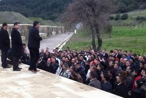 Makedonya'dan Şehitlikleri Görmek İçin Geldiler