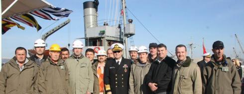 Nusret Mayın Gemisi Tekrar Türk Kara Sularında