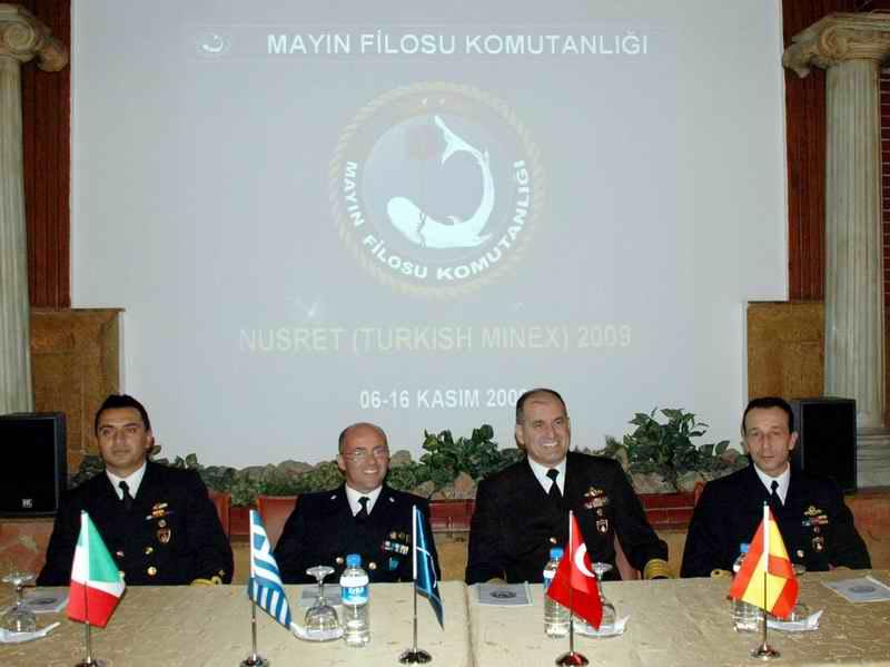 Nusret 2009 Tatbikatı Kuzey Ege'de Başladı