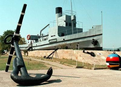 Nusret Mayın Gemisinin Maketi Tarih Oldu