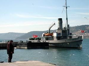 Nusret Mayın Gemisi Yeniden Çanakkale'de