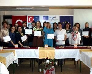 Türk Oyasını Öğrenen Yabancı Konuklar İçin Sergi