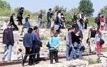Troia Antik Kentine Turist Akını