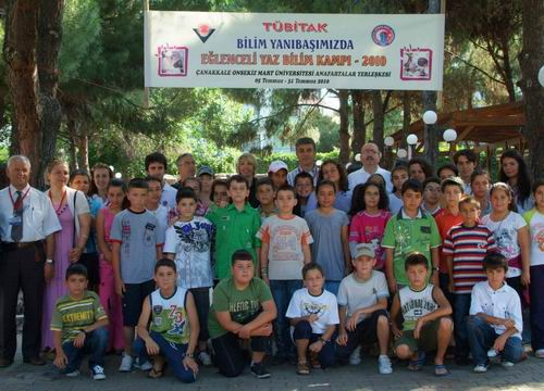 Tübitak Yaz Bilim Kampı 3. Dönem Sertifika Töreni Yapıldı