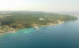 Kilitbahir Limanı'nın Havadan Genel Görünümü