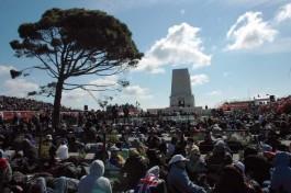 Gelibolu Yarımadası'nda Arıburnu Bölgesindeki Avustralya Anıtında Her Yıl 25 Nisan'da Törenler Düzenleniyor