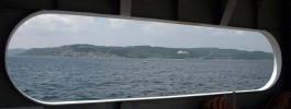 Kilitbahir'in Denizden Görünümü