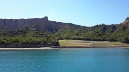 Anzak Koyu'nun Denizden Görünümü