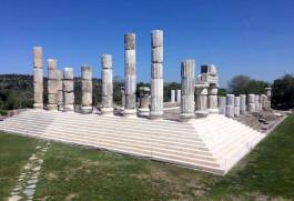 Apollon Smintheion Tapınağı'ndan Genel Görünüm