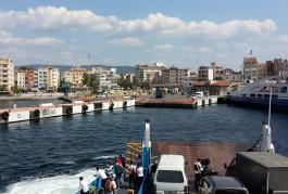 Arabalı Vapur ve Çanakkale Şehir İskelesi