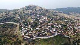Behramkale ve Assos Antik Kentinin Havadan Görünümü