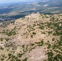 Assos Antik Kentinin Havadan Görünümü