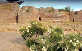 Assos Antik Kenti Girişi
