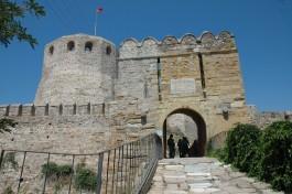 Bozcaada Kalesi'nin Giriş Kapısı