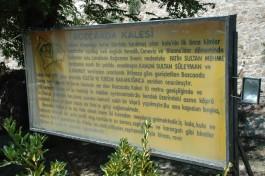 Bozcaada Kalesi İle İlgili Açıklamanın Yer Aldığı Tanıtım Yazısı