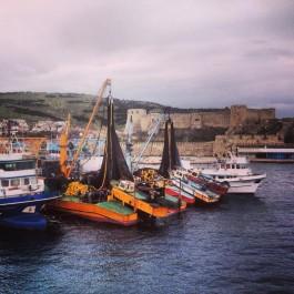 Bozcaada Kalesi ve Liman