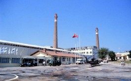 Çanakkale'nin Çan İlçesinde Hizmet Veren Çanakkale Seramik Fabrikalarından Bir Görünüm