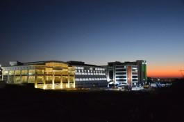 Çanakkale Onsekiz Mart Üniversitesi'nin Gece Görünümü
