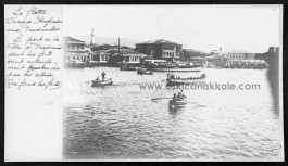 """Donanma Çay Bahçesi"""" ile """"Şakir'in Yeri""""nin 1920'li Yıllarda Hali"""
