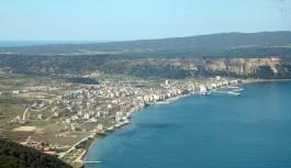 Eceabat'ın Havadan Görünümü