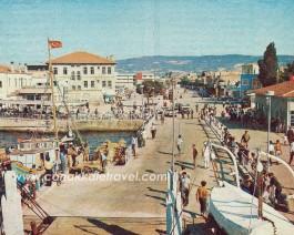 1970'li Yıllarda Çanakkale Feribot İskelesi Bölgesi