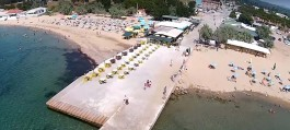 Çanakkale'nin Ezine İlçesine Bağlı Geyikli Beldesi Sahili
