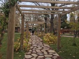 Çanakkale Halk Bahçesi'nin İçinden Görünüm