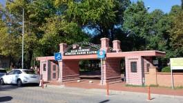 Çanakkale Halk Bahçesi'nin Giriş Kapısı