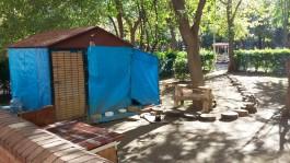 Çanakkale Halk Bahçesi'ndeki 'Kedi Evi'