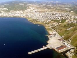Kepez Limanının Havadan Görünümü
