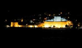 Kilitbahir Kalesi'nin Gece Görüntüsü