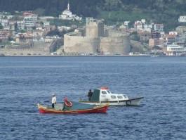 Kilitbahir Kalesi ve Balıkçılar