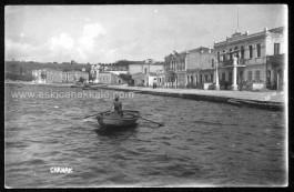1900'lü Yıllarda Çanakkale Kordon Boyu. Necip Paşa Camii Karşıda Görülüyor