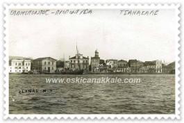 1800'lü Yılların Sonunda Çanakkale Sahil Kesimi
