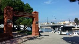 Sarıçay Üzerinde Yeni Yapılan 'İnönü Köprüsü' ve Osnabrück Parkı