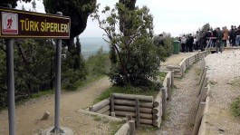 Gelibolu Yarımadasındaki Türk Siperleri