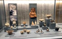 Troya Müzesi'nde Yer Alan Eserlerden Bir Görünüm
