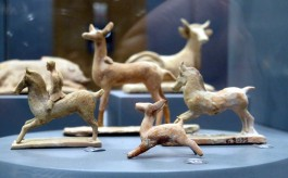 Troya Müzesi'ndeki Eserlerden Görüntüler