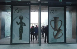 Troya Müzesi'nin Girişinden Görünüm