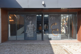 Troya Müzesi'nin Giriş kısmı