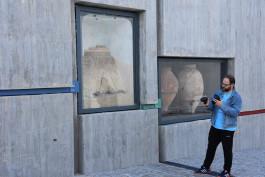 Troya Müzesi'nin Giriş Kısmında Sergilenen Eserler