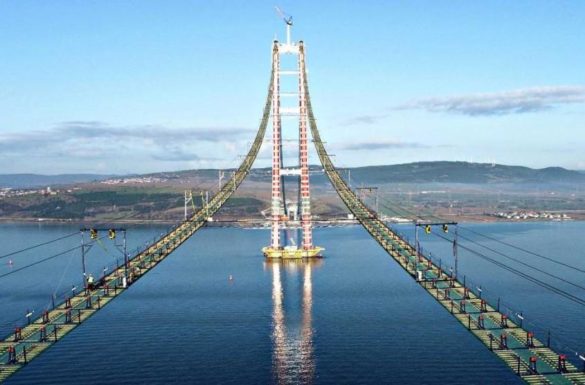 1915 Çanakkale Köprüsü Boğazların Eyfel Kulesi Olabilir