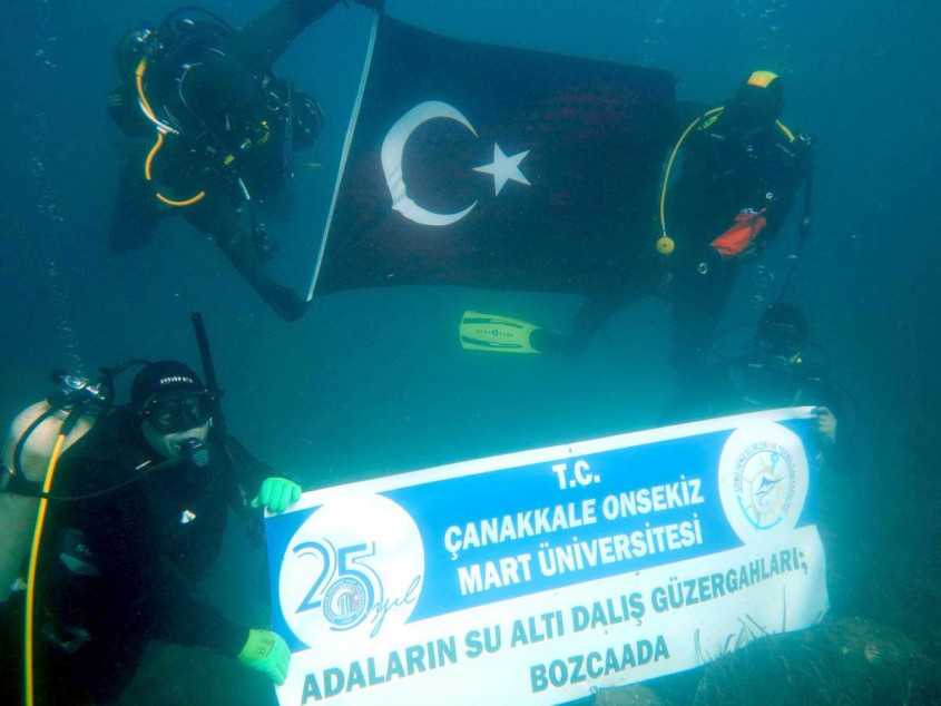 """""""Adaların Su Altı Dalış Güzergahları"""" Projesi Start Aldı"""