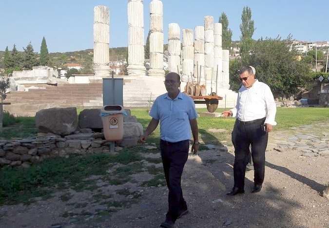 Apollon Smintheion Tapınağı'nda Kazı Çalışmaları Sürüyor