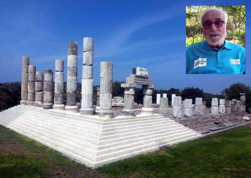 Apollon Smintheus'un Kazı Başkanı Değişiyor
