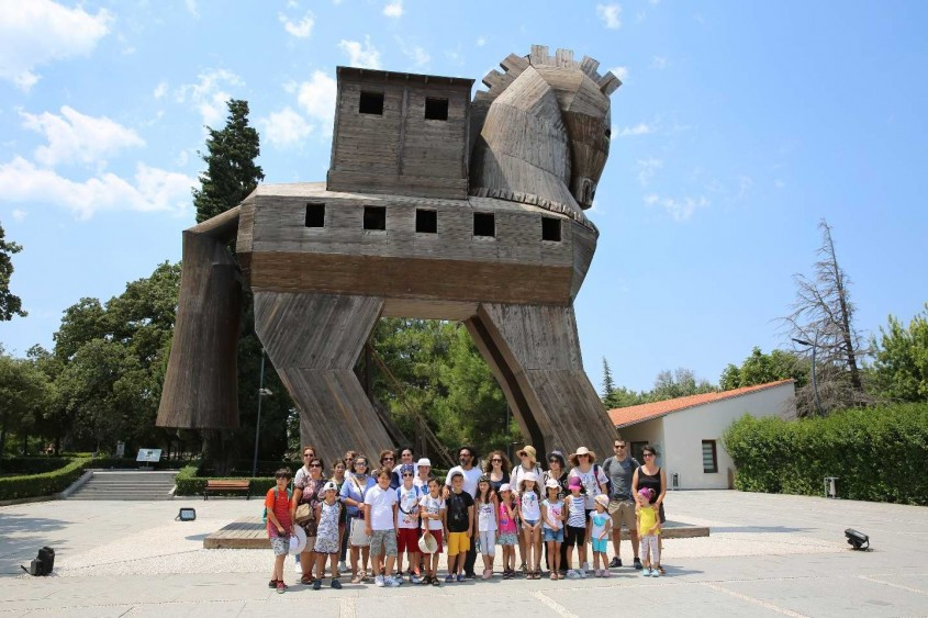 """Arkeo-Köy Tevfikiye'de """"Sanat Günleri""""nin Üçüncüsü Yapıldı"""