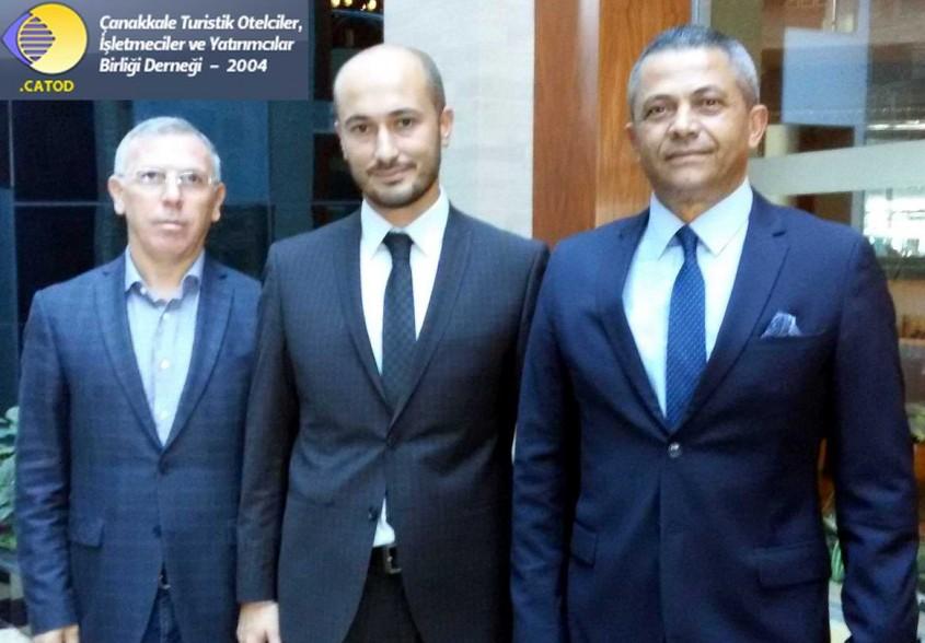 Çatod'da Yeni  Başkan Armağan Aydeğer