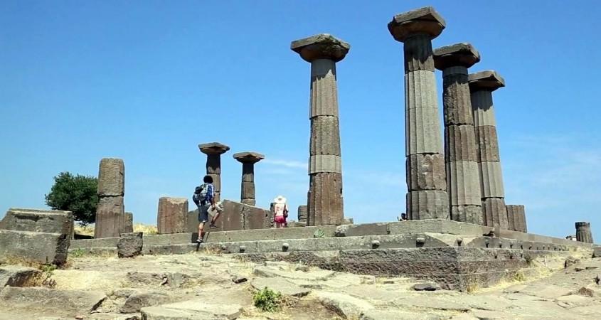 İçdaş Assos Antik Kenti Kazılarına Sponsor Oldu