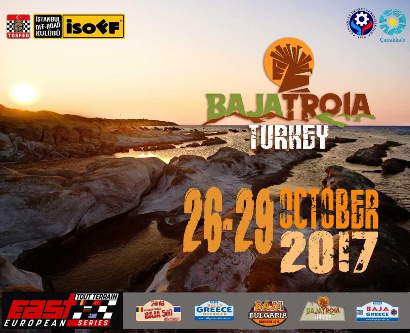 """""""Baja Troia Turkey"""" 26-29 Ekim'de Çanakkale'de Yapılacak"""